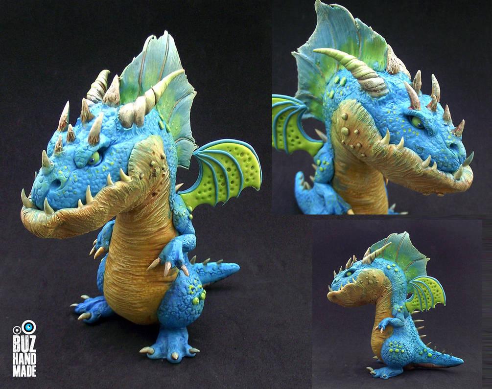 Caribbean Dragon by buzhandmade