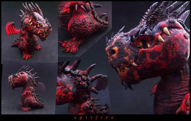 Spitfire Dragon by buzhandmade