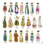 Costume Color thumbnails by ArtofJessieKate