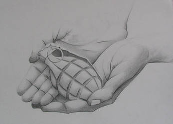 Hands: grenade by bldred