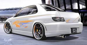california Look Subaru by GlaciusCreations