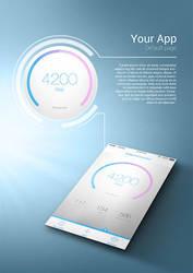 App Presentation Mockup by BbInuTb
