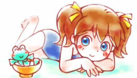 Sunbathing by oi-chan