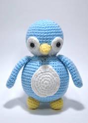 Ball Body Penguin by craftyhanako