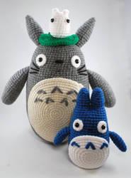 Totoro set by craftyhanako