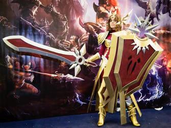Leona League of Legend by ArtemisBerry