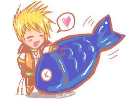 I Heart Fish by MieuChan