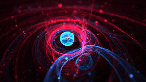 Space and Particles 8 by JanRobbe
