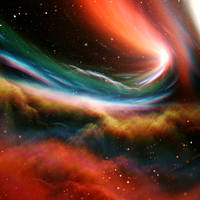Cosmic Veil by JanRobbe
