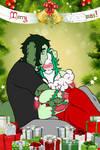 [Necrobie] Krazoa and Holly - Under the Mistletoe by xxAshie