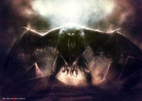 Cthulhu Rise by LochaPowa