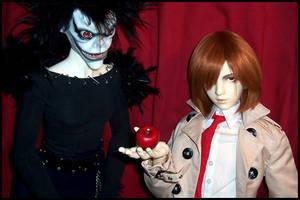 Death Note BJD: Apple? by Maru-Light