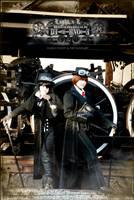 Death Note Steampunk: L vs L by Maru-Light