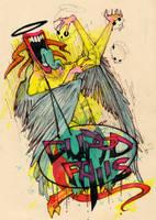 cupid falls commission by b33lz3bub