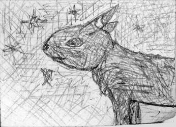 Umbreon sketch by Jinggo78
