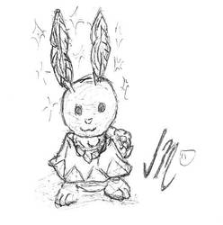 White Hare by Jinggo78