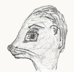 Otter Sketch by Jinggo78