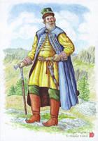 Daurian governor, XVII c. by Nikkolainen