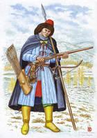 The bodyguard of Daurian governor, XVII c. by Nikkolainen