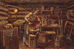 Blacksmith by Nikkolainen