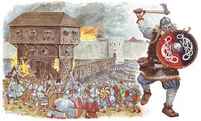The viking siege of Paris. by Nikkolainen