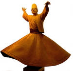 whirling dervish by muratdaskin