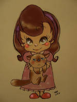 Bed time, princess! by asami-h