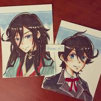 Kane san/Kunihiro by asami-h