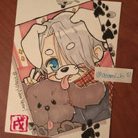 Happy Dog year!!! by asami-h