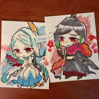 Naginata by asami-h