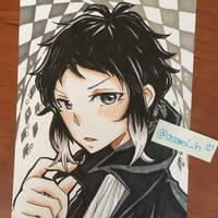 Akutagawa Ryunosuke by asami-h