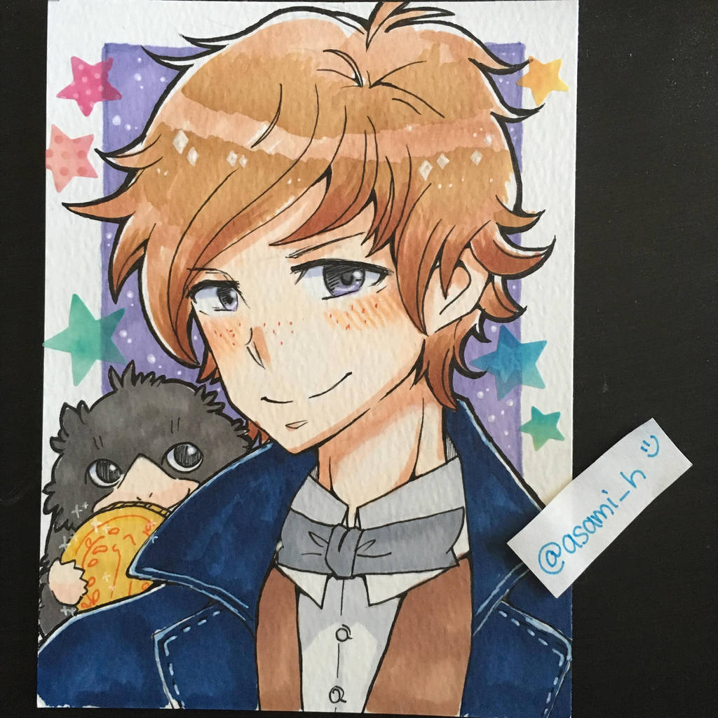 Newt by asami-h