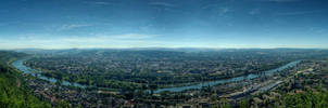 Trier - Day HDR Panorama by 55Laney69
