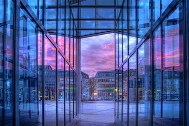 Trier - Sunset HDR 3 by 55Laney69