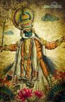 'incredible india' Kathakali by prasadesign