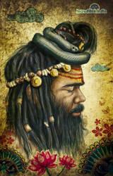 'incredible india ' SADHU by prasadesign
