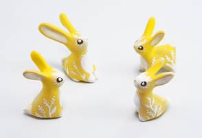Easter Rabbits by Ailinn-Lein