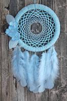 The Spring Blue Bird Dreamcatcher by Ailinn-Lein