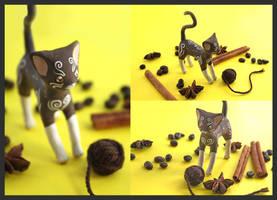 The Coffee Cat by Ailinn-Lein