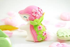Flower Cyndaquil by Ailinn-Lein
