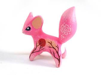 Sakura Mist Fox by Ailinn-Lein