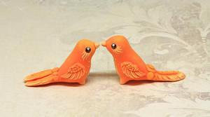 Two Little Phoenix Babies by Ailinn-Lein