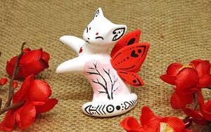 White Fairy Kitten by Ailinn-Lein