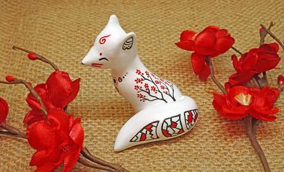 Dreamcatcher Kitsune by Ailinn-Lein