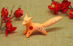 Ginger Oriental Fox by Ailinn-Lein