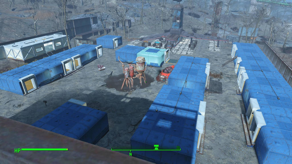 my fallout 4 starlight drive in settlement by commander9 on deviantart