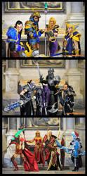 World of Warcraft Team by MiraiCosplay