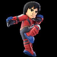 Super Smash Bros. Ultimate - 51. Mii Brawler by pokemonabsol