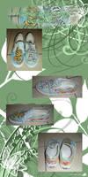 Art Shoe For Fancy Lil' Nancy by fenrir66