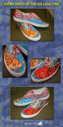 Koi Love Pair Shoes - Extra by fenrir66